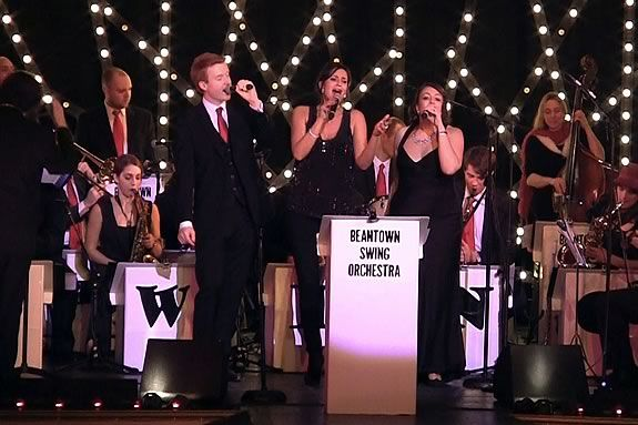 The City of Peabody hosts a Holiday Concert with Beantown Swing at City Hall!