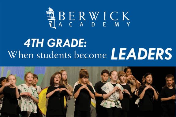 Berwick Academy Open House 4th Grade