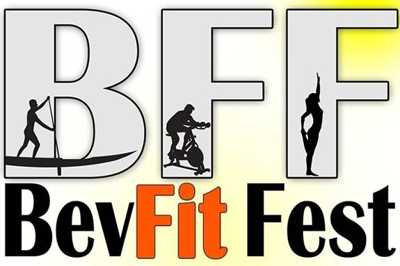 Excercise free classes, paddleboarding, yoga an more is what you'll find on the beach at the Bev Fit Fest!