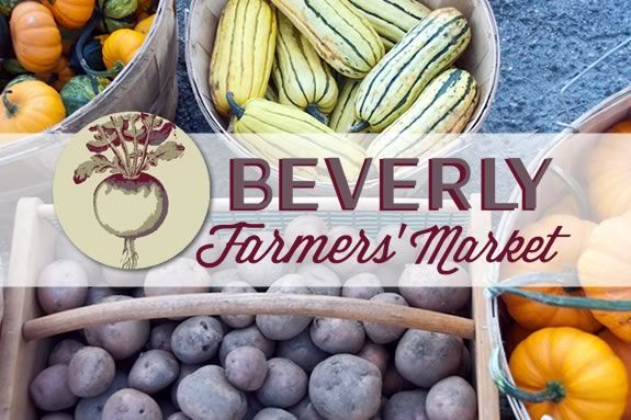 The Beverly Fall Farmers Market is held indoors at the Cove Community Center