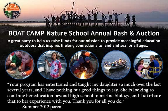 Help Raise funds for Newburyport's Boat Camp Nature School at their auction bash
