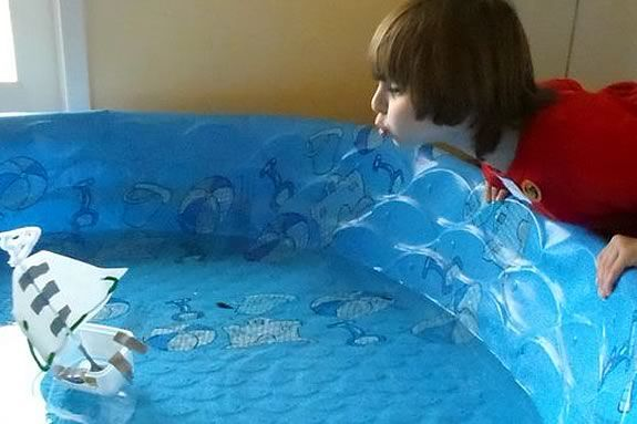 Make your own boat, then see if it floats at Joppa Flats Education Center!
