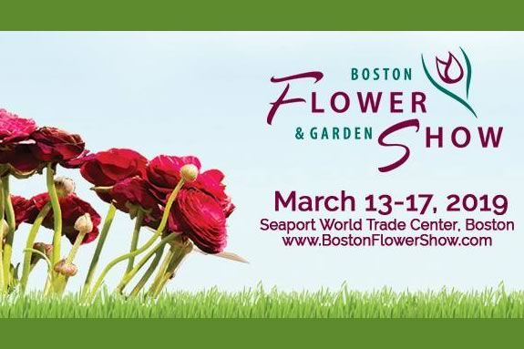 Boston flower Show at the Seaport World Trade Center