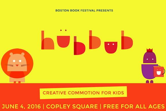 Boston Book Festival Hubbub for Kids