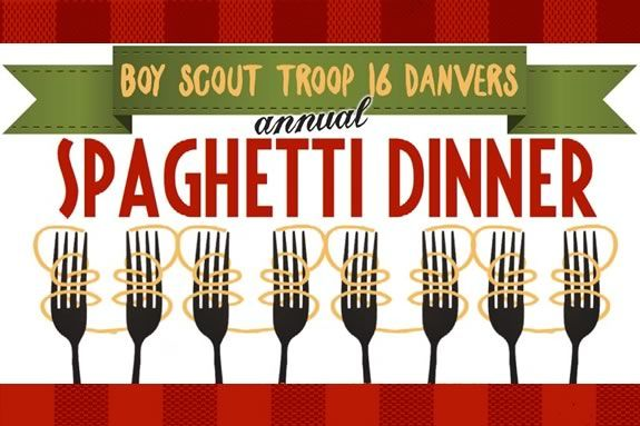 Come to the Maple Street Church for the Boy Scout Troop 16 spaghetti fundraiser!
