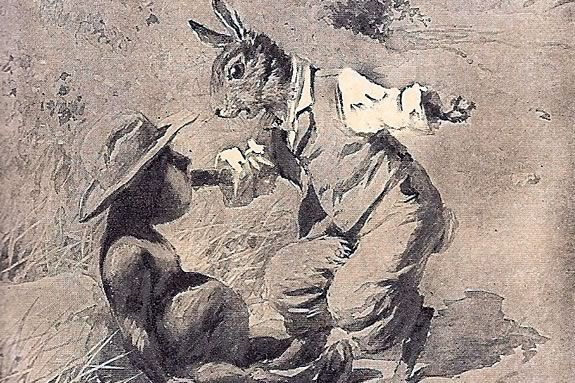 Brer rabbit and the tar baby is a classic american folktale