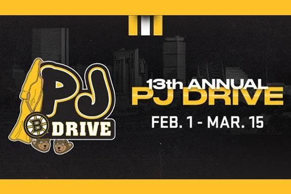 Drop off new pajama donations at libraries across the North Shore as part of the Boston Bruins PJ Drive