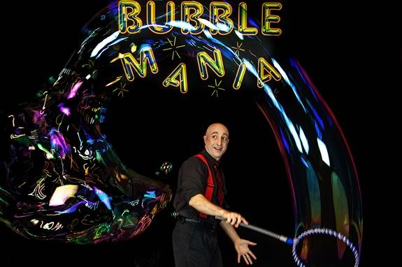 Come see Bubblemania at the Firehouse Center for the Arts in Newburyport!