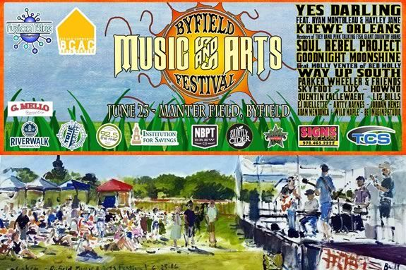 Byfield Community Arts Center fundraiser Music & Arts Festival