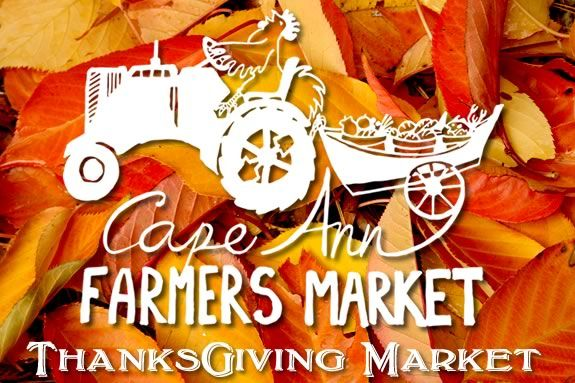 The Cape Ann Farmers Market hosts a Thanksgiving market at the UU Church on Middle Street in Gloucester, Massachusetts!