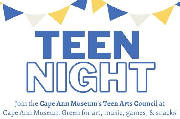 Join the Cape Ann Museum's Teen Art Council at CAM Green to celebrate teen artists from the North Shore.