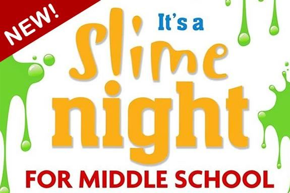 A friday night slime party at Cape Ann Art Haven in Gloucester Massachusetts!