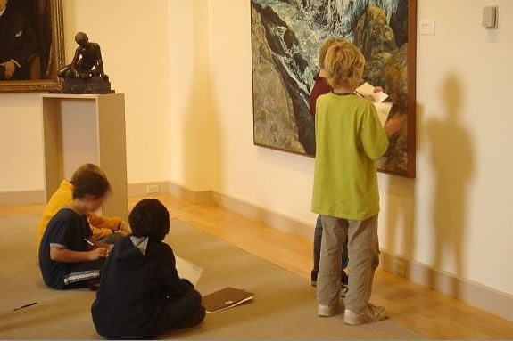 This month's open studio is all about artistic expression with landscapes.