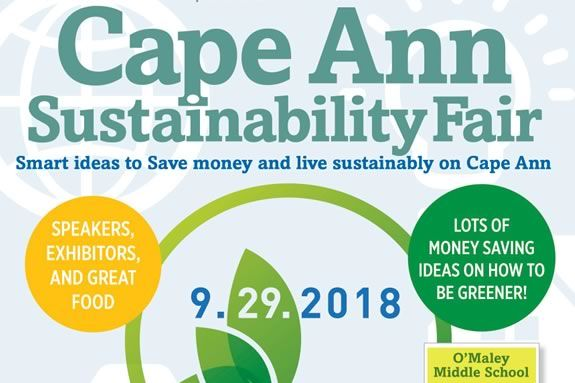 "Come to the Cape Ann Sustainability Fair in Gloucester to learn how to ""Get Your Green On"""