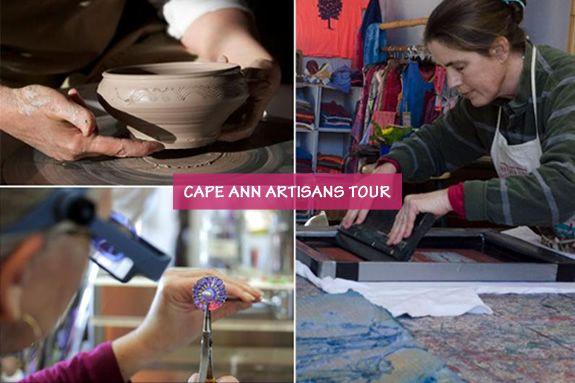 Cape Ann Artisans are part of a vibrant arts community. Visit #CapeAnn