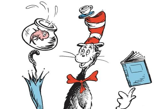 Come meet the Cat in the Hat at Sawyer Free Library in Gloucester!