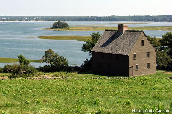 Take a guided hike on Choate Island with the Trustees of Reservations!