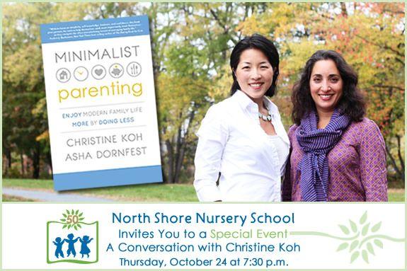 Christine Koh visits North Shore Nursery School Beverly MA, Boston Mamas, Parent