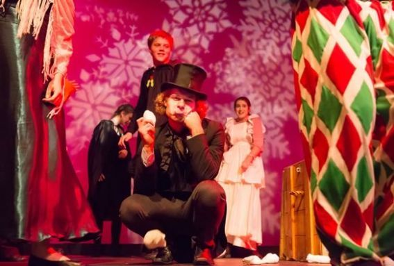 Theater in the Open celebrates the holidays with their interpretation of Dickens' Christmas Carol at the Firehouse Center for the Arts in Newburyport!