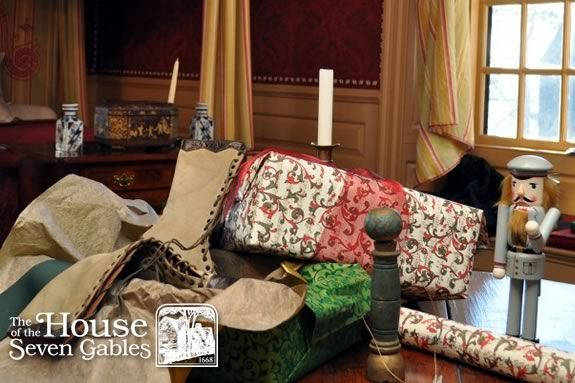 Christmas at the House of Seven Gables in Salem Massachusetts. Holidays