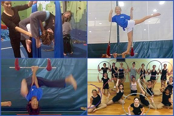 Your child can try circus performing skill in this FREE introductory class!