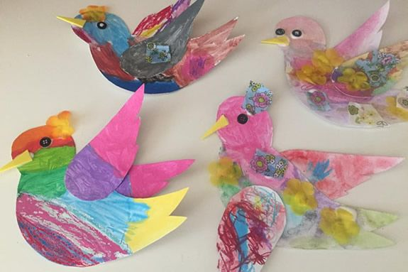 Art Classes for children with Colleen Apostolos-Marsh