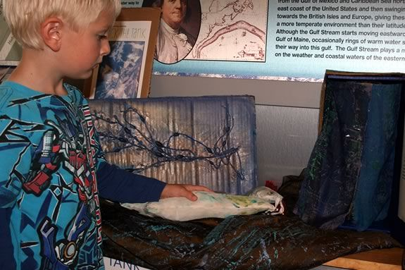 Kids will learn collograph print making at this Maritime Gloucester workshop!