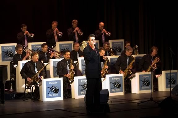 The Compaq Big Band will be playing at Yankee Homecoming Waterfront Concerts