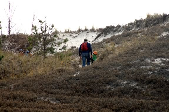 Hiking the Dunes at the Crane Wildlife Refuge with the Trustees of Reservations.