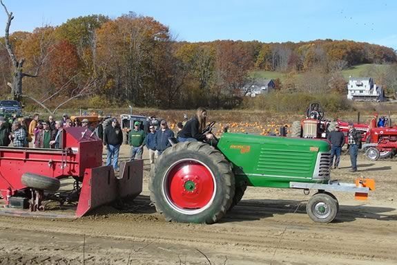 Crescent Farm tractor pull in Haverhill Massachusetts