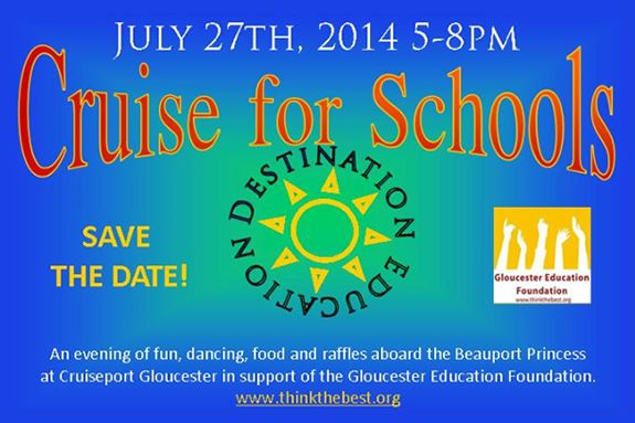 Gloucester Education Foundation Cruise for Schools