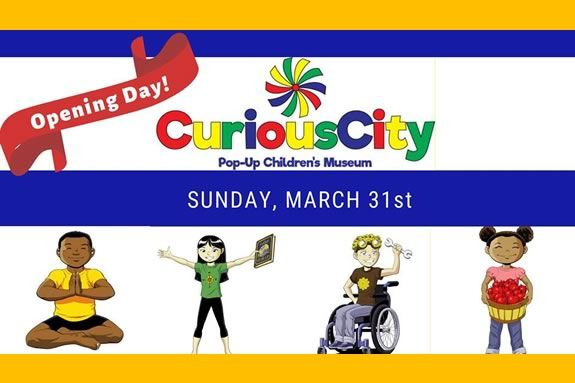 Curious City - a pop-up museum in Peabody Massachusetts - opens on March 31st!