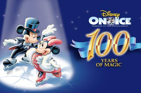 Disney on Ice 100 Years of Magic in Boston. Winter fun live performance.