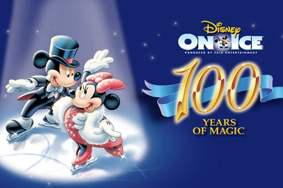 Disney on Ice 100 Years of Magic in Boston. Winter fun live performance.