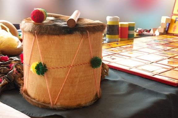 Cape Ann Museum hosts a family friendly session where attendees can try their hand at making their own musical instruments