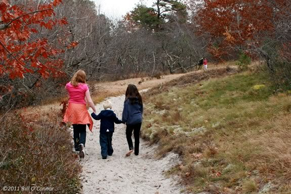 Take your 3-5 year old youngster on a good old fashioned nature discovery walk at Parker River Wildlife Refuge.