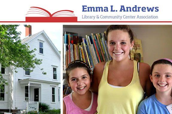 Emma Andrews Library in Newburyport MA. Programs for children, tweens, teens