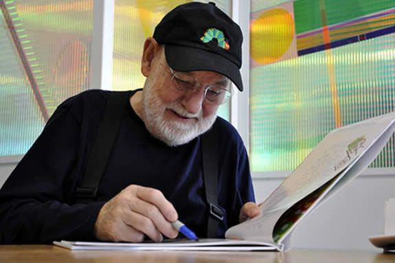 Eric Carle Book Signing at the Carle Museum in Amherst