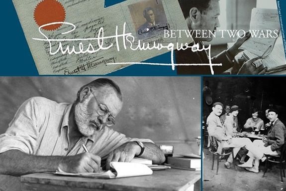 The John F. Kennedy Presidential Library and Museum Exhibition, Ernest Hemingway: Between Two Wars.