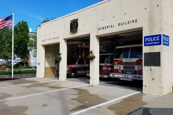 Come to the Essex Fire Department for a September 11 Memorial Service.