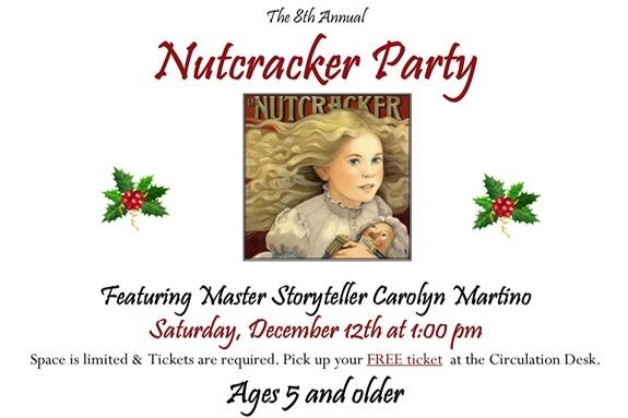 Learn the real story of the Nutcracker at the Essex Masssachusetts Library