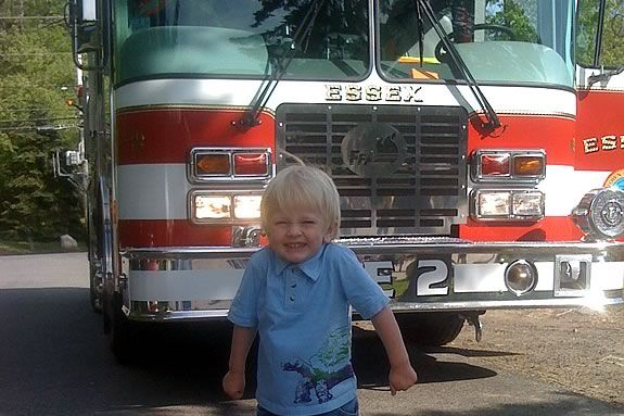 TOHP Burnham Public Library invites kids to a Touch-a-Truck event in Essex Massachusetts