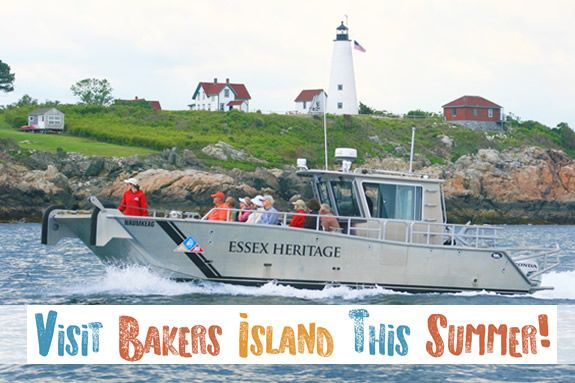 Boat and Light Station Tour Bakers Island Tour