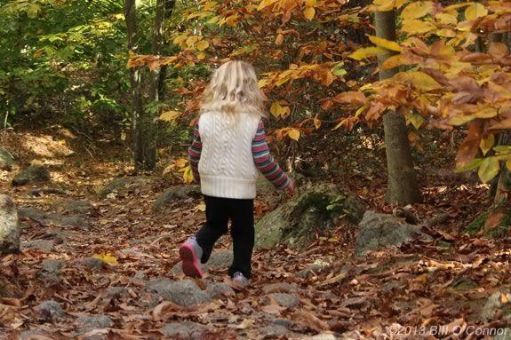 Kidleidoscope is a programs designed for preschoolers at Bradley Palmer State Park