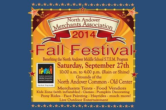 North Andover Merchants Association Annual Fall Festival. Merrimack Valley