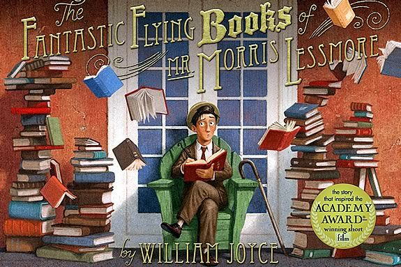 """This Story Trails is about """"The Fantastic Flying Books of Mr. Morris Lessmore"""""""