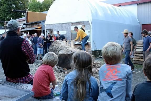 The Essex Massachusetts Festival in the Shipyard is fun for the whole family