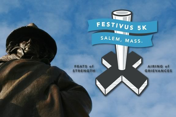 Come Race the Festivus 5k in downtown Salem Massachusetts and raise funds for kids with autism.