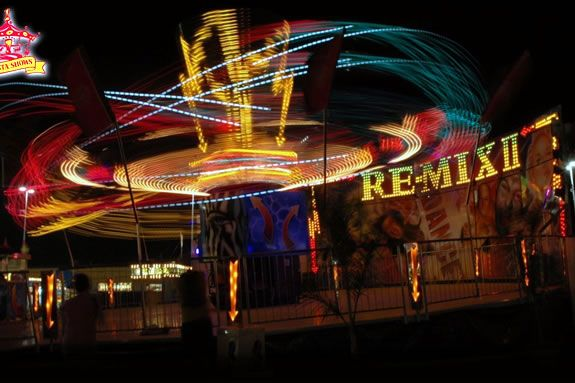 Enjoy the sideshow atmosphere of the The Haunted Happenings Carnival in Salem