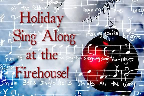 Come with friends and neighbors to sing holiday songs to start your holiday seas